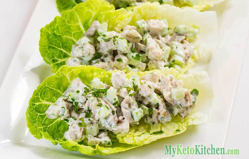 Easy Low Carb Chicken Salad Wraps Recipe