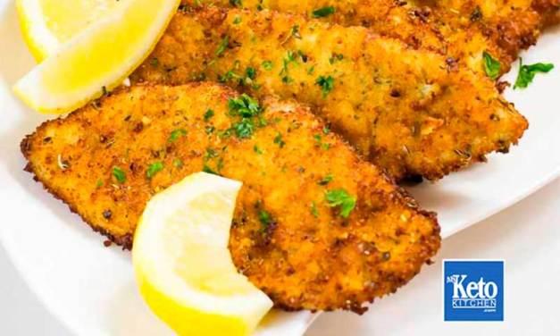 Keto Schnitzels Recipe – Pork Coated in Parmesan & Herb Breading