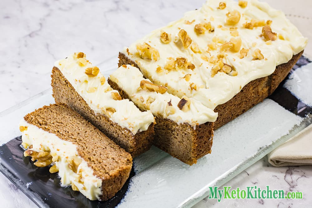 Low Calorie Loaf Cake Recipes: Frosted Gingerbread Loaf