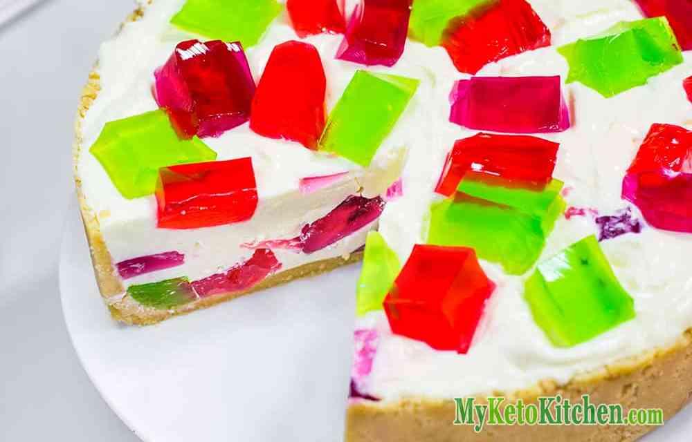 Sugar Free Low Carb Jello Cheesecake – No Bake Recipe