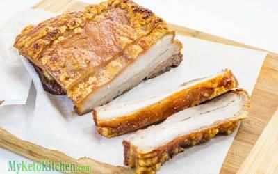 Roast Pork Belly For Your Ketogenic Diet