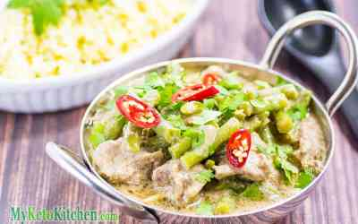 Keto Pork Curry Recipe – Thai Coconut Style – Mildly Spicy & Aromatic