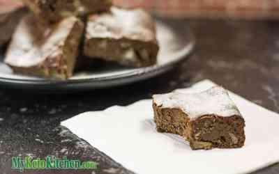 Sugar-Free Flourless Chocolate Macadamia Brownies