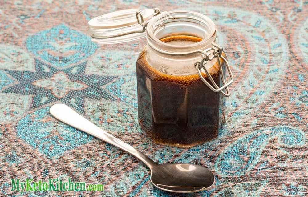 Sugar-Free Sweet Soy Sauce – Keto Kecap Manis
