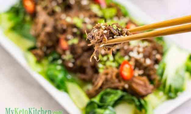 Keto Shredded Beef Recipe – Asian Style – Sesame, Ginger & Garlic