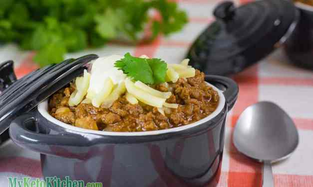 Low Carb Spicy Beef Chili – Keto Chili Con Carne