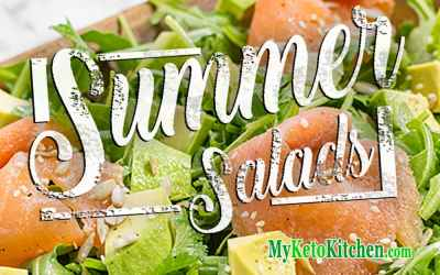 Easy Summer Salad Recipes Loaded with HEALTHY Fats