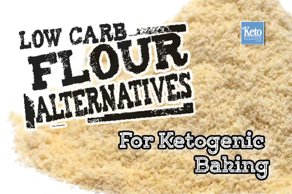 The Complete Guide to Low Carb Flour – The BEST Alternatives for LCHF Keto Cooking