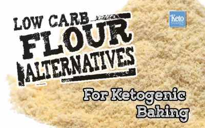 Low Carb Flours – Keto Flour Substitutes for Baking Breads, Cookies & Desserts