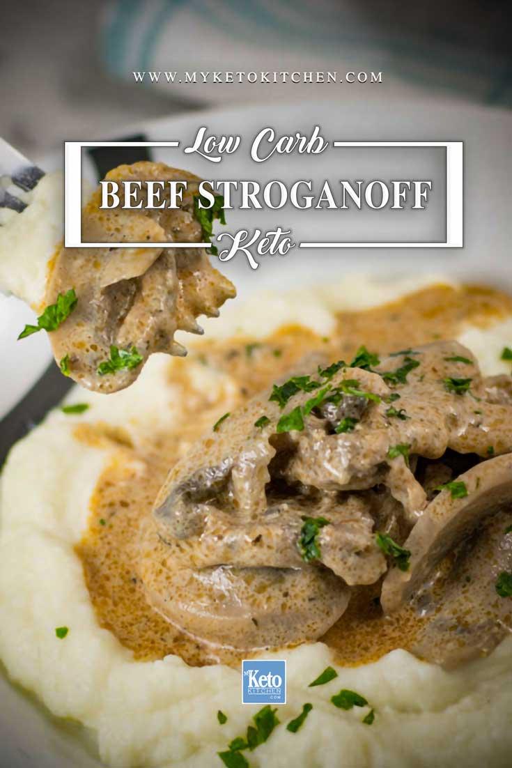 Keto Beef Stroganoff Recipe