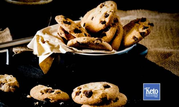 Keto Chocolate Chip Cookies – Simply Delicious – Chewy and Gluten Free