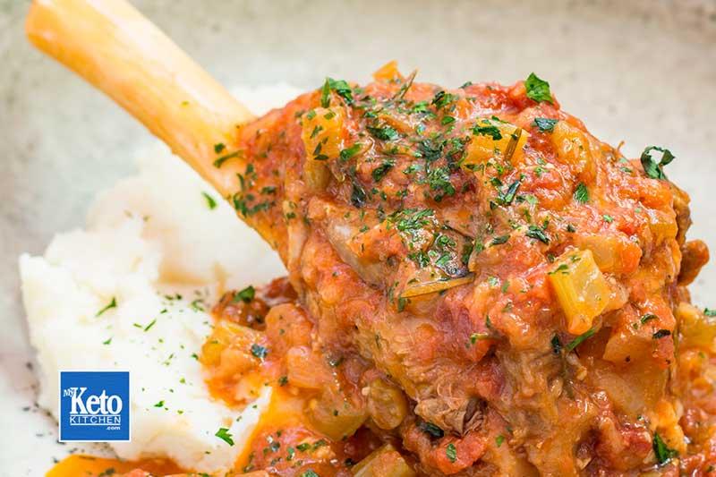 Keto Lamb Shanks Pressure Cooker Recipe – Just FALLS OFF THE BONE!