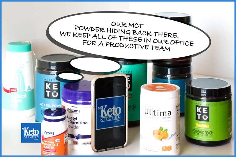 mct powder keto supplements