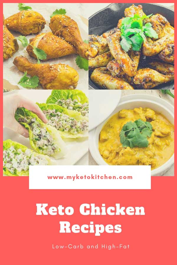 """27 Best Keto Chicken Recipes - Low Carb """"Very Tasty"""