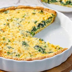 Best Keto Spinach Quiche Recipe - Easy. Low-Carb & Super Nutritious