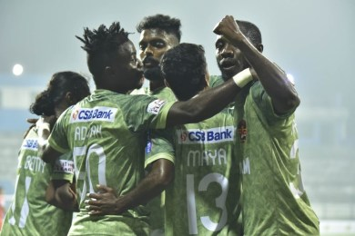 I-League: Gokulam Kerala FC steam past Neroca FC to move up the points table