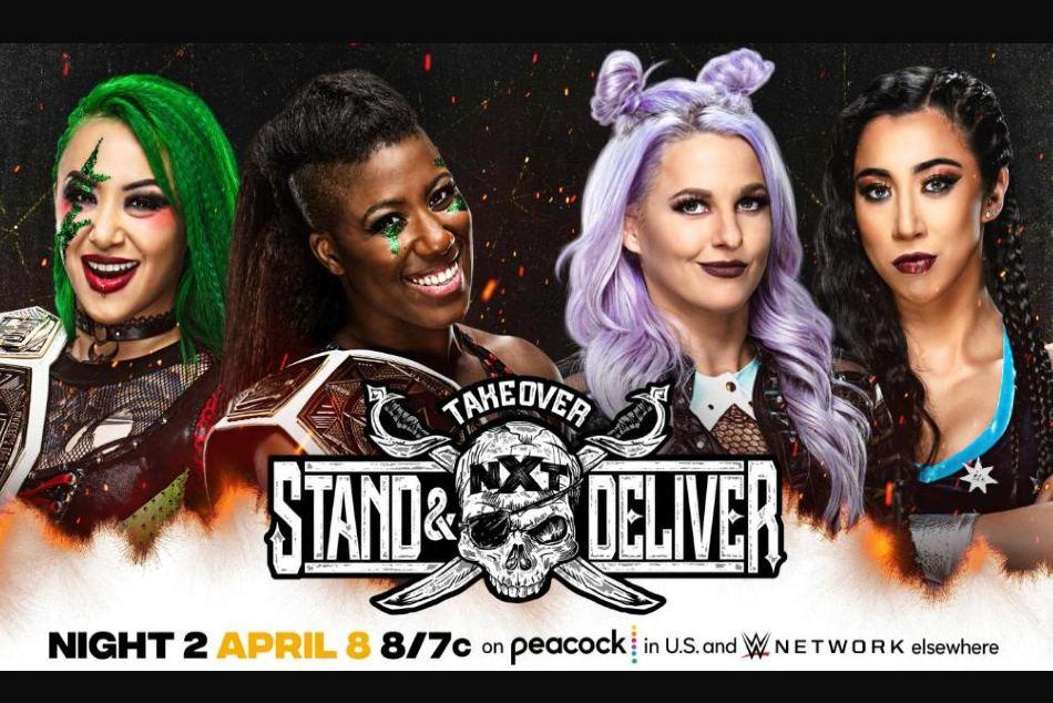 Gauntlet Eliminator, Title Match and more set for WWE NXT TakeOver: Stand &  Deliver - myKhel