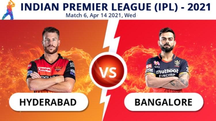 IPL 2021, SRH vs RCB Match 6 Live Updates: Bangalore ...