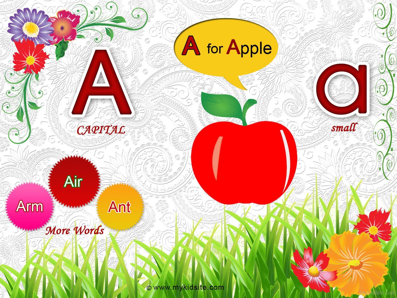 Alphabet Worksheet For Letter A