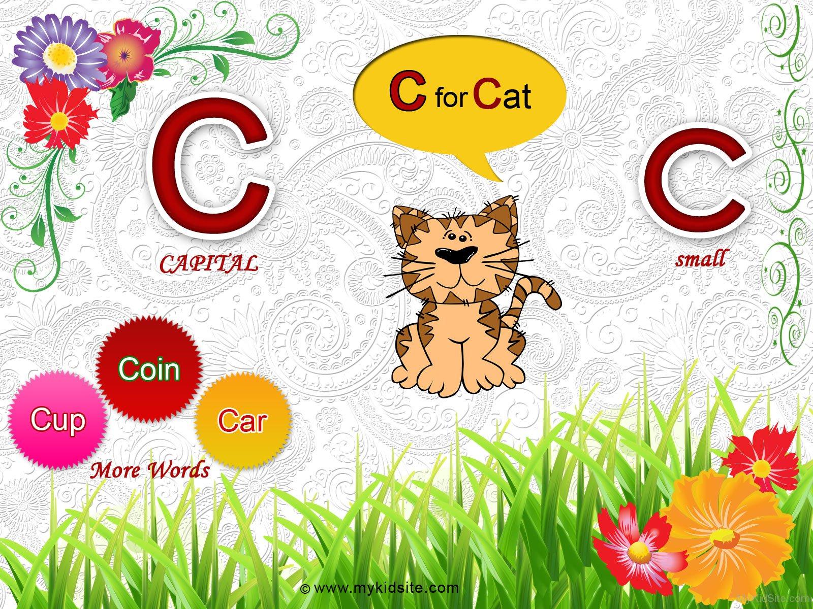 Alphabet Worksheet For Letter C