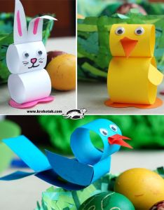 Paper crafts also easy for kids you  ll want to make too rh mykidstime