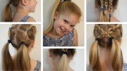 6 easy hairstyles school