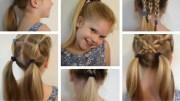 6 easy hairstyles school