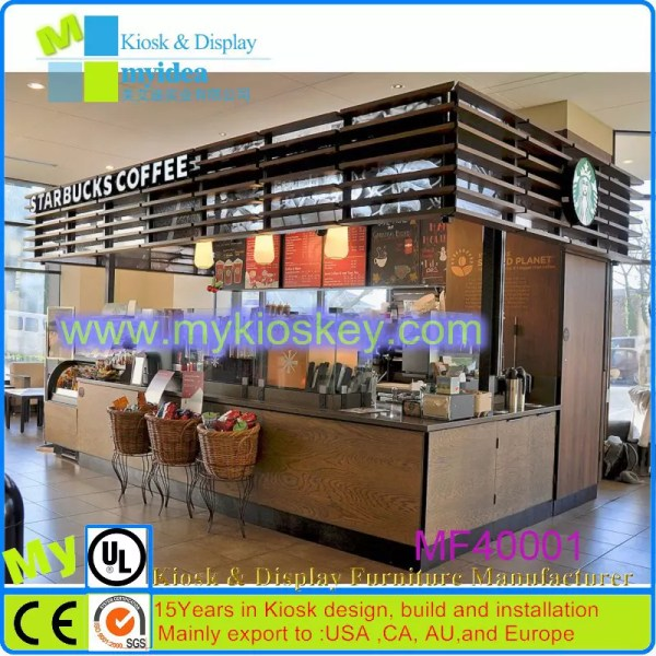 Coffee Kiosk Design Shopping Mall - Year of Clean Water