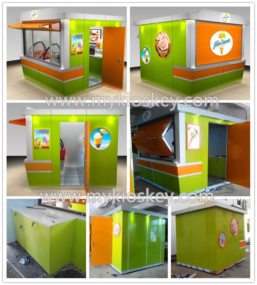 Modular Containers Mall Kiosks Food Kiosks Custom (2