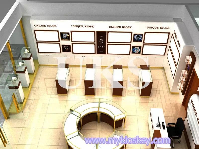 Newest jewelry shop interior furniture design for sale