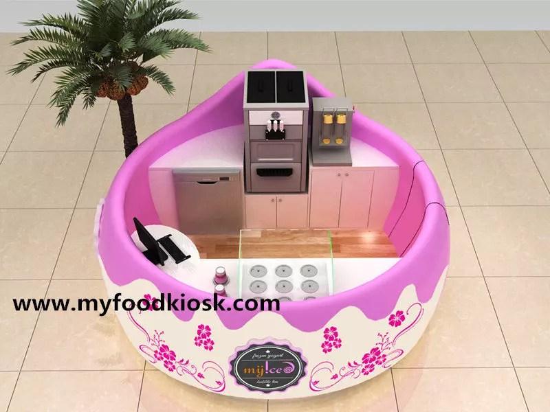 Juice bar ice cream kiosk smoothie kiosk design