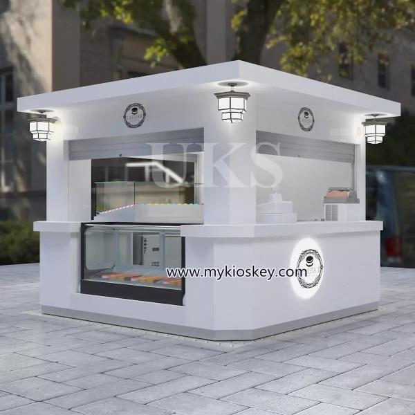 10ft Elegant Macaron Outdoor Kiosk Design In Hot