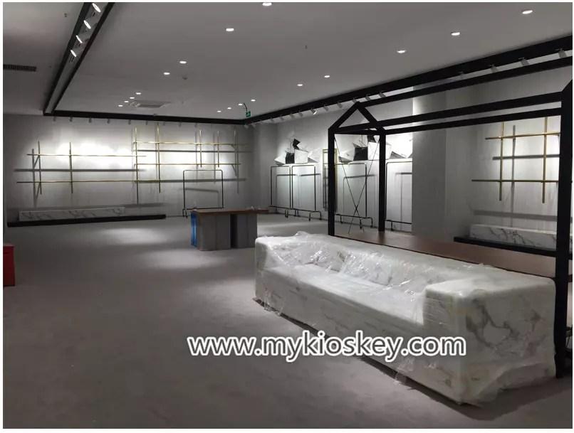 High End Retail Clothes Shop Furniture Counter Design