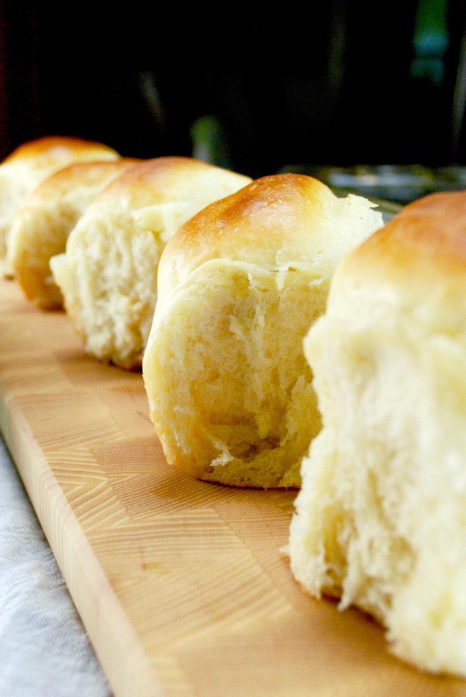 Amish Potato Rolls Homemade Dinner Roll Recipe