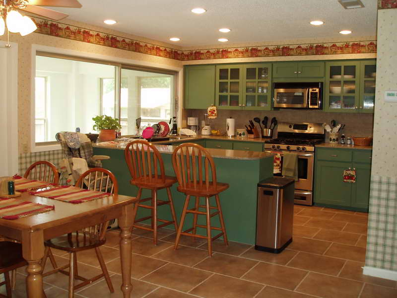 painting kitchen cabinets cost table and chair sets getting started to diy old - my ...