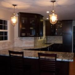 Kitchen Cabinet Refacing Ideas Kohler Faucets Simple Tips For Painting Cabinets Black - My ...