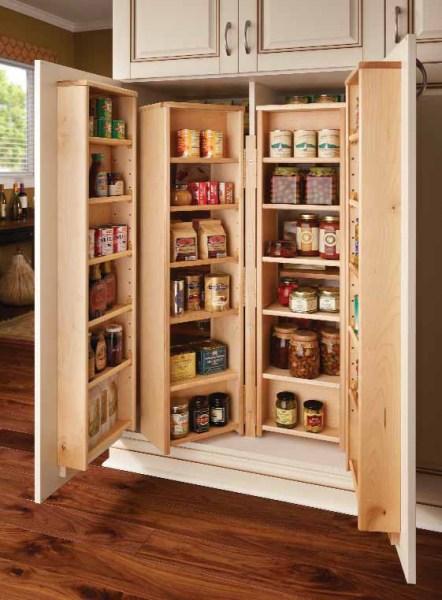 corner pantry kitchen cabinets design Corner Kitchen Pantry Cabinet to Maximize Corner Spots at Home - My Kitchen Interior