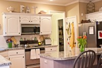 Tips Decorating Above Kitchen Cabinets - My Kitchen ...