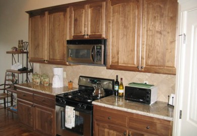 Kitchen Cabinets Natural Finish
