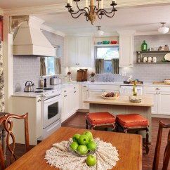 French Country Farm Table And Chairs Mid Century Swivel Chair West Elm Decent Satisfaction Looking Cottage Kitchen Ideas - My Interior ...
