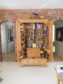 Free Standing Kitchen Pantry Storage Cabinet