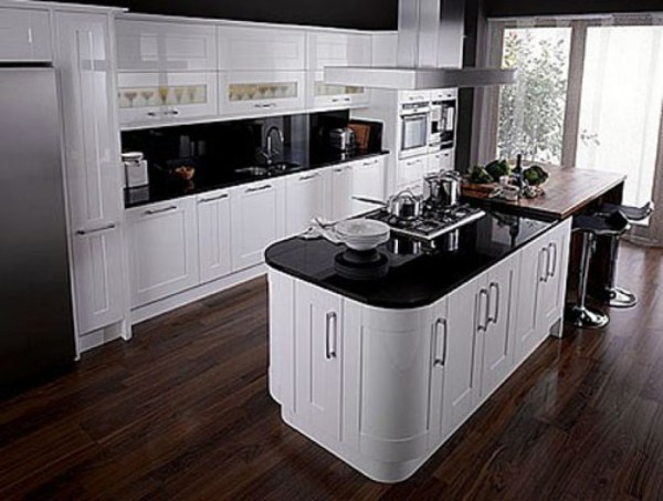 contemporary kitchen inspiration Have the Black and White Kitchen Designs for Your Home