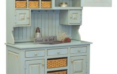 19+ Fascinating Antique Kitchen Hutch That Look Elegant And Attractive