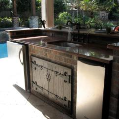 Stainless Steel Outdoor Kitchen Country Chairs The Cabinets For Your Home