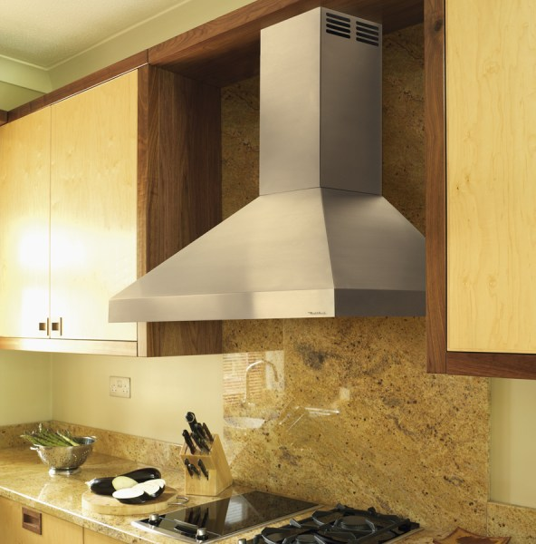 in a kitchen range hoods chimney The Useful Kitchen Vent Hood Ideas - My Kitchen Interior | MYKITCHENINTERIOR