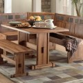10 photos of the farmhouse wooden kitchen tables as ageless rustic