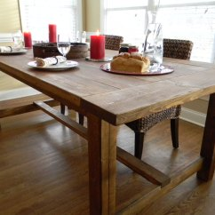 Farm House Kitchen Table Used Farmhouse Wooden Tables As Ageless Rustic Interior
