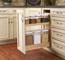 Kitchen Pantry Pull-Out Cabinet