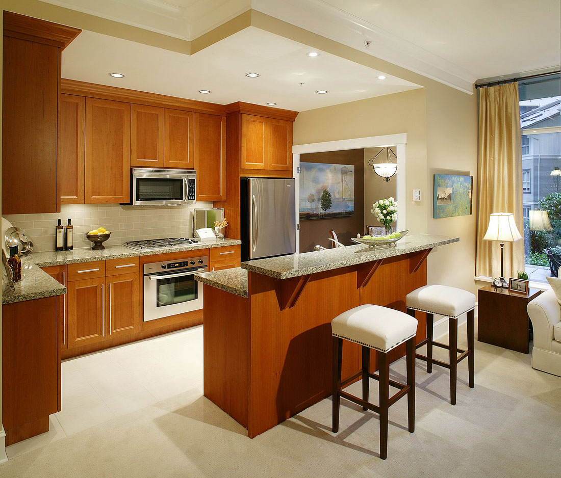 Open Kitchen Design Ideas with Living and Dining Room  MYKITCHENINTERIOR