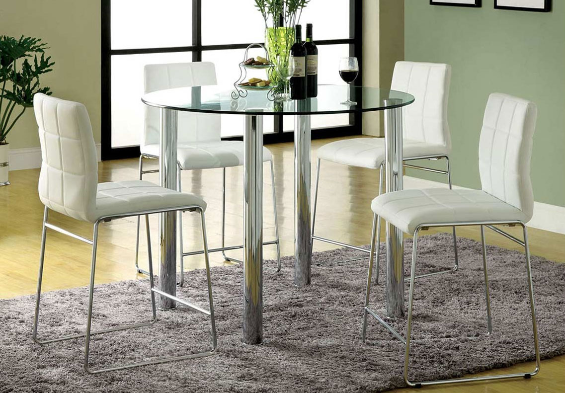 tall round kitchen table and chairs small lift recliners counter height tables for special dining room